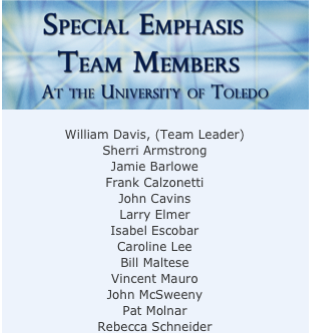 special emphasis team members