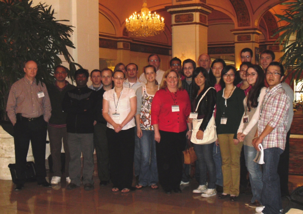 Department Members at the Washington AAG Meeting