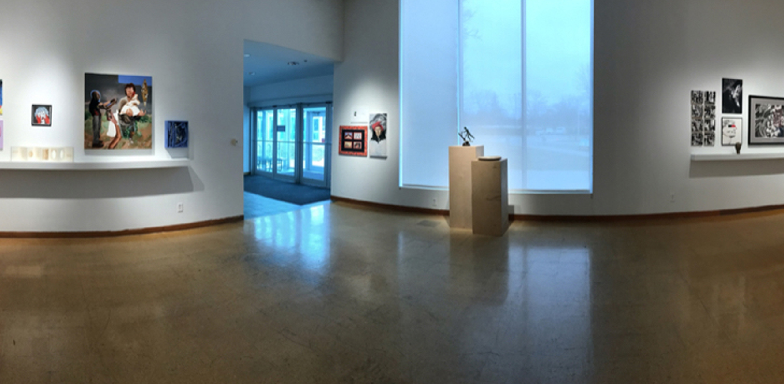 A photo of the 2020 UToledo Juried Student Exhibition