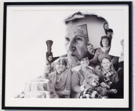 "Helen Fitzpatrick Fredricks Award, Crystal Hand ""Anywhere my Family is"" Inkjet Print"