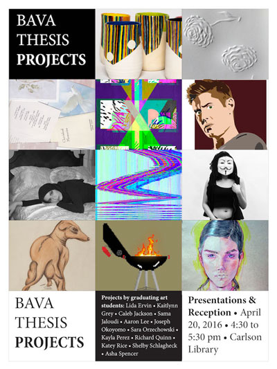 UT BAVA Exhibit Flyer