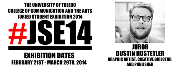 2014 University of Toledo Juried Student Exhibition - February 21 - March 29