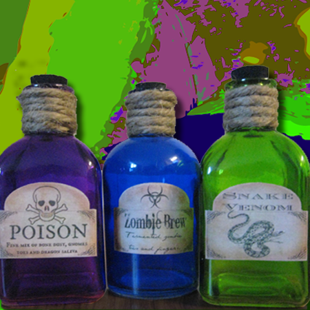 Create your own potion bottle design