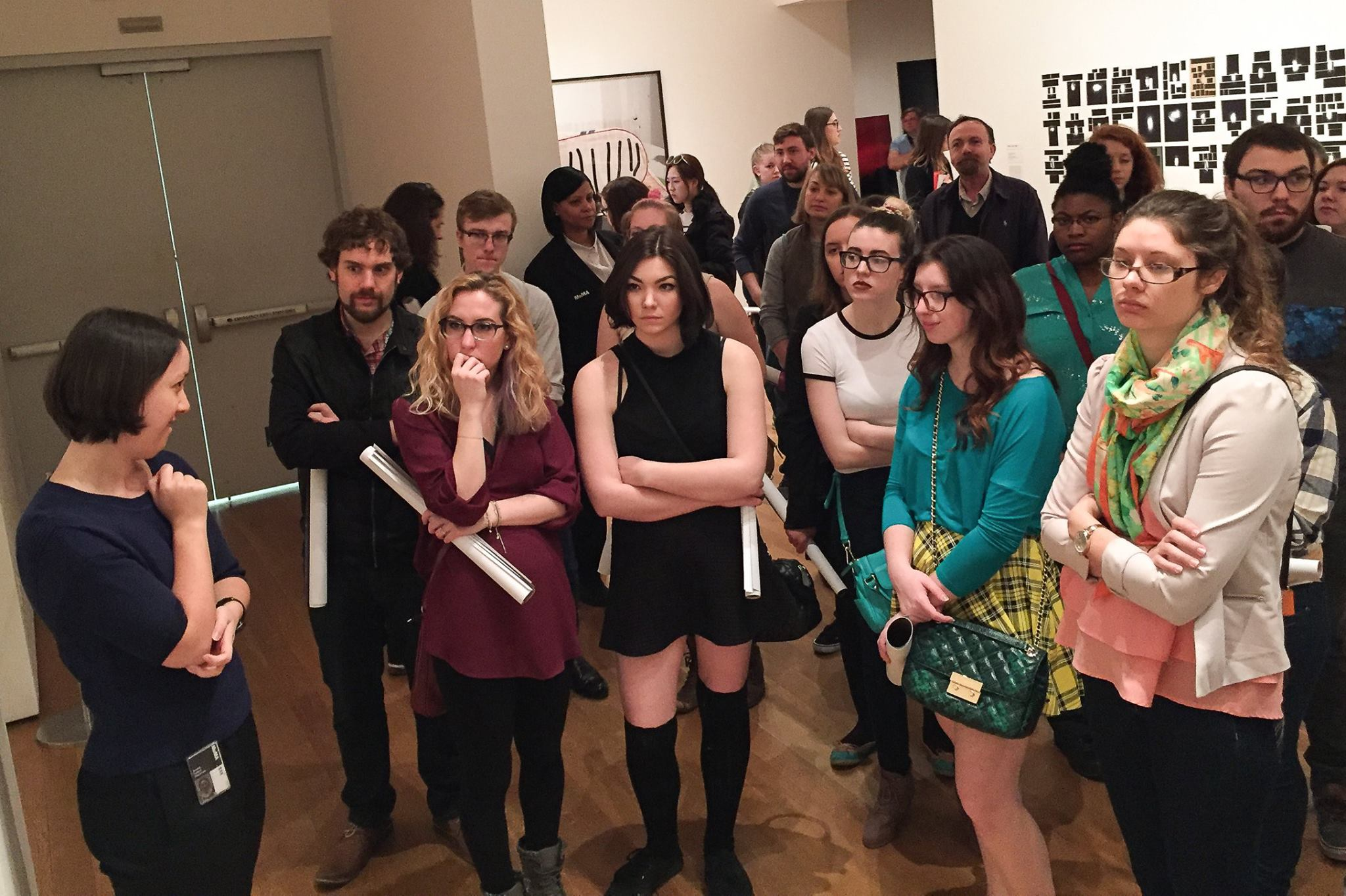 Art students and faculty take trip to NYC