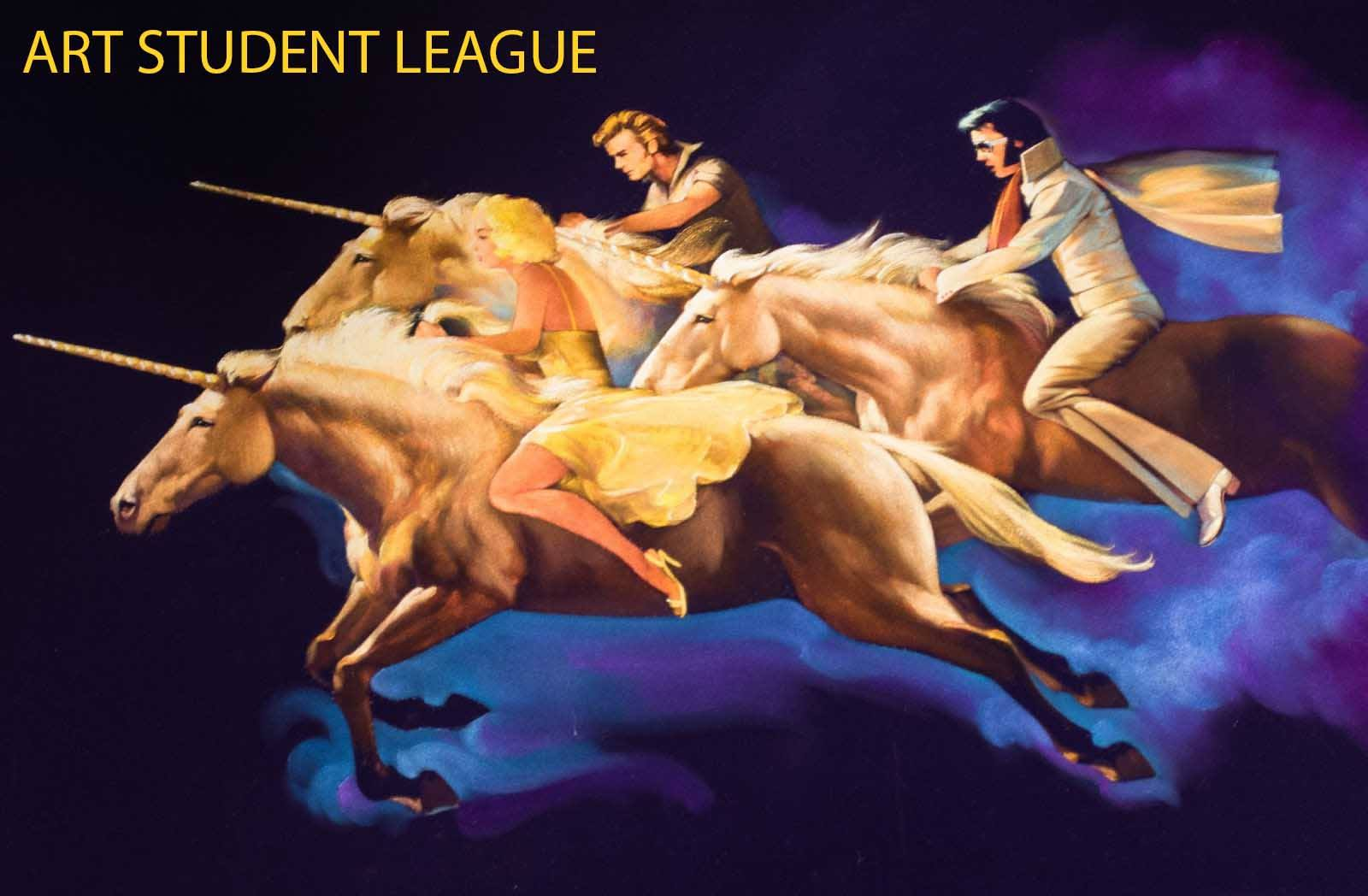 art student league unicorn
