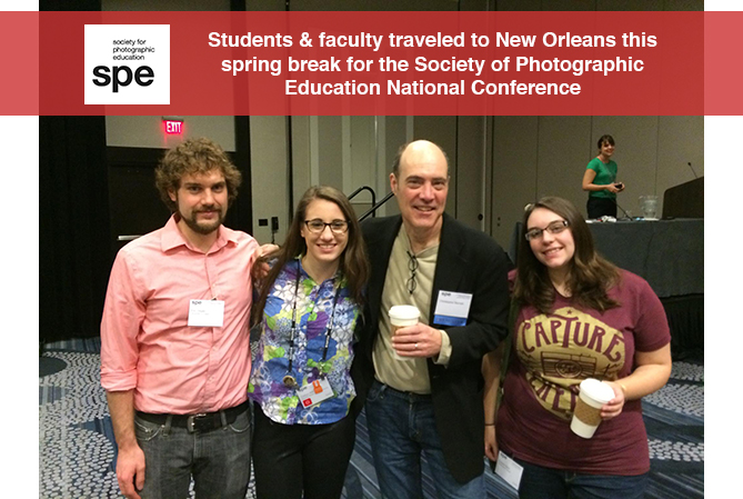 Photo students and professors spend spring break at SPE conference in New Orleans