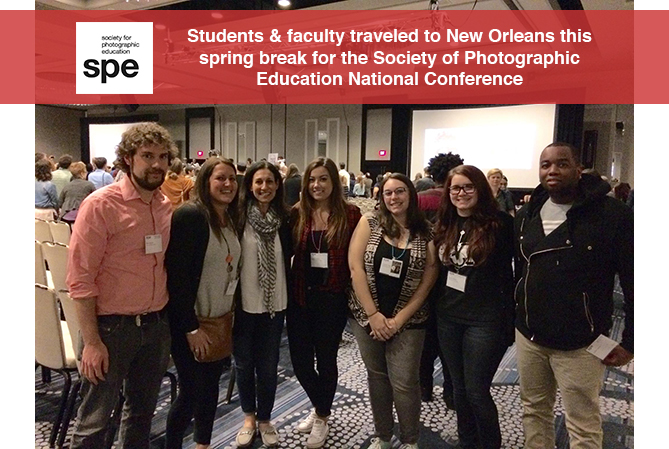students and faculty attend SPE Conference in New Orleans over spring break