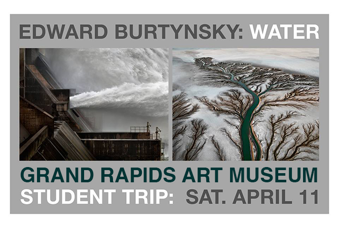 trip to see Burtynsky's water exhibit at the GRAM
