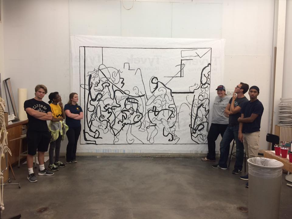 students large drawing