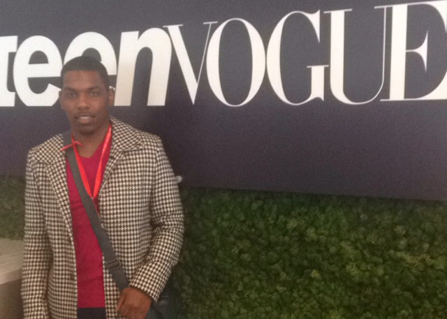 Jared Robinson Attends Teen Vogue Fashion University!