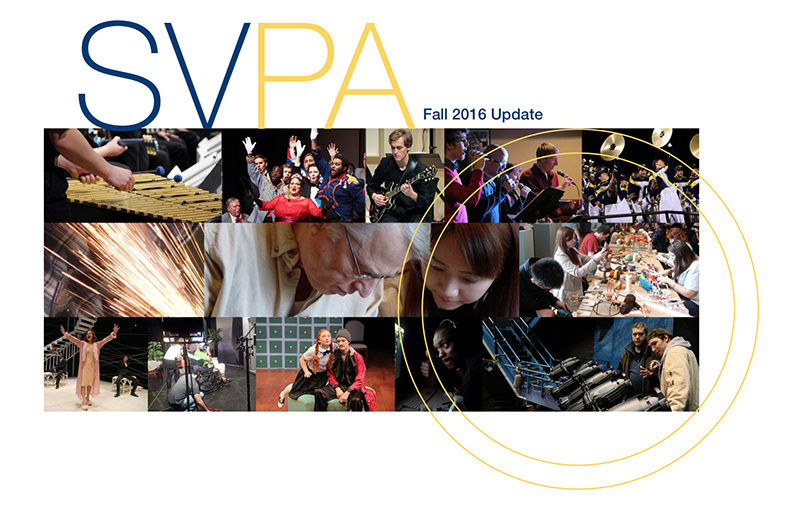 SVPA collage of department images