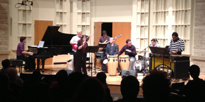 UT Latin Jazz Ensemble in concert
