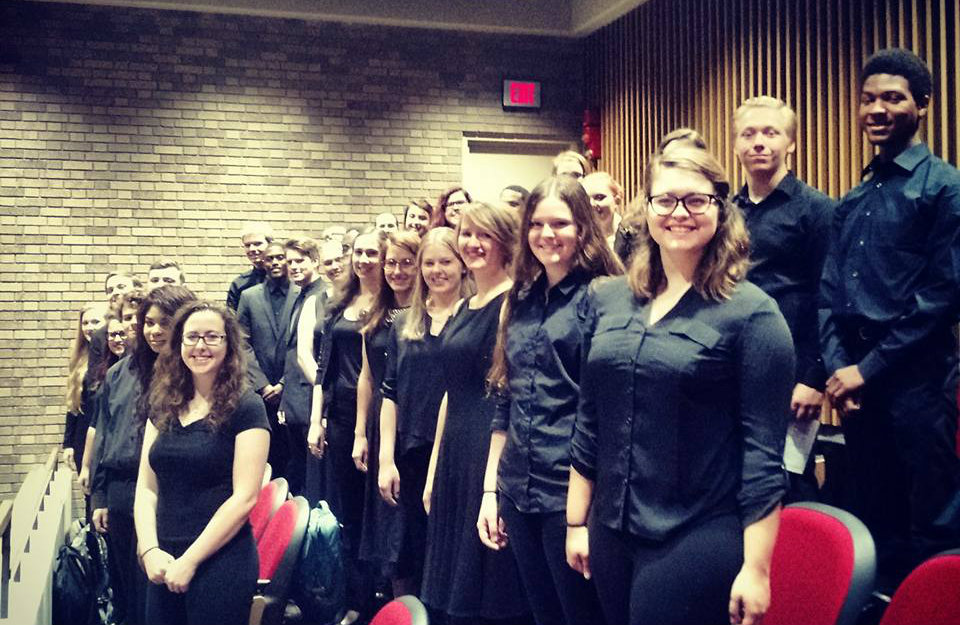 Concert Chorale - Naturalization Ceremony Performance 2015