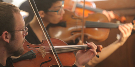 Join a music ensemble at UT