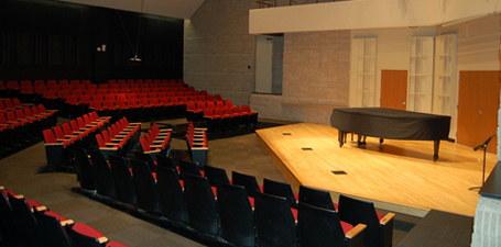 UT Center for Performing Art Recital Hall
