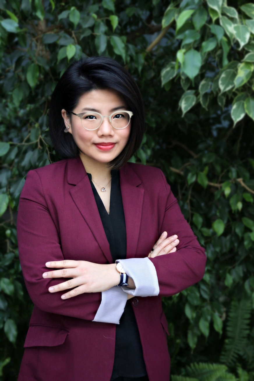 Photo of Xiaosha Lin visitng assistant professor of voice and director of choral music at The University of Toledo