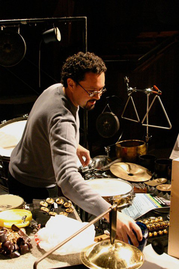 Olman Piedra, assistant professor of percussion and jazz studies, The University of Toledo