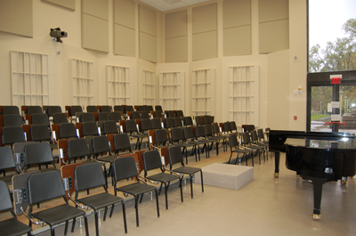 University of Toledo Center for Performing Arts, Choral Rehearsal Space