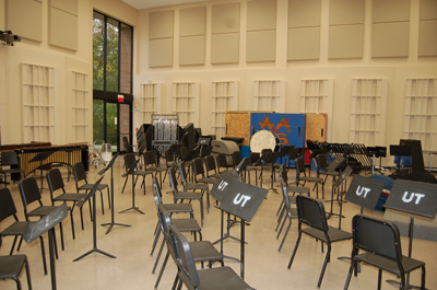 University of Toledo Center for Performing Arts, Instrumental Rehearsal Space, PA1023