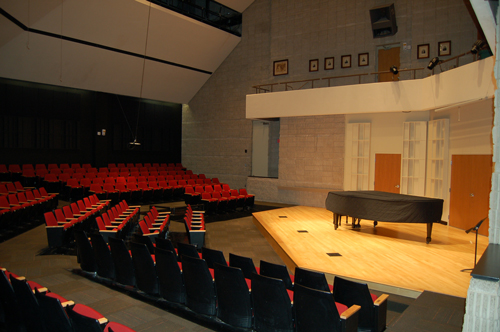 University of Toledo, Center for Performing Arts, Recital Hall