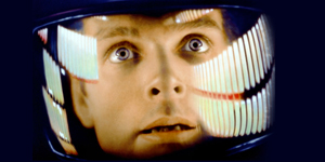 Scene from 2001 A Space Odyssey