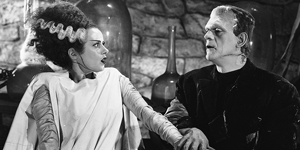 Scene from The Bride of Frankenstein