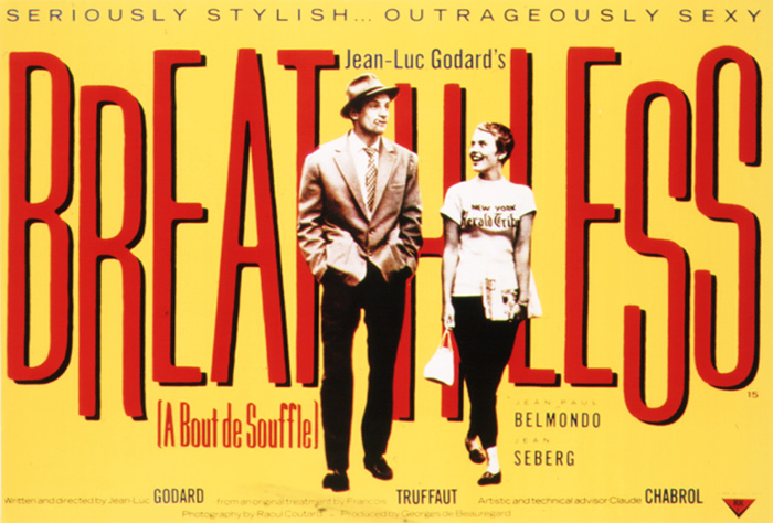 UT Department of Theatre and Film presents Breathless as part of its First Friday on Film Series