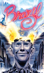 Poster image from the movie Brazil, directed by Terry Gilliam