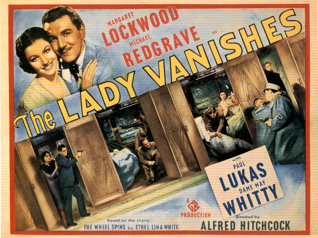 UT Department of Theatre and Film presents The Lady Vanishes as part of its First Friday on Film Series
