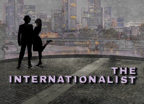 Poster image for the UT production of The Internationalist