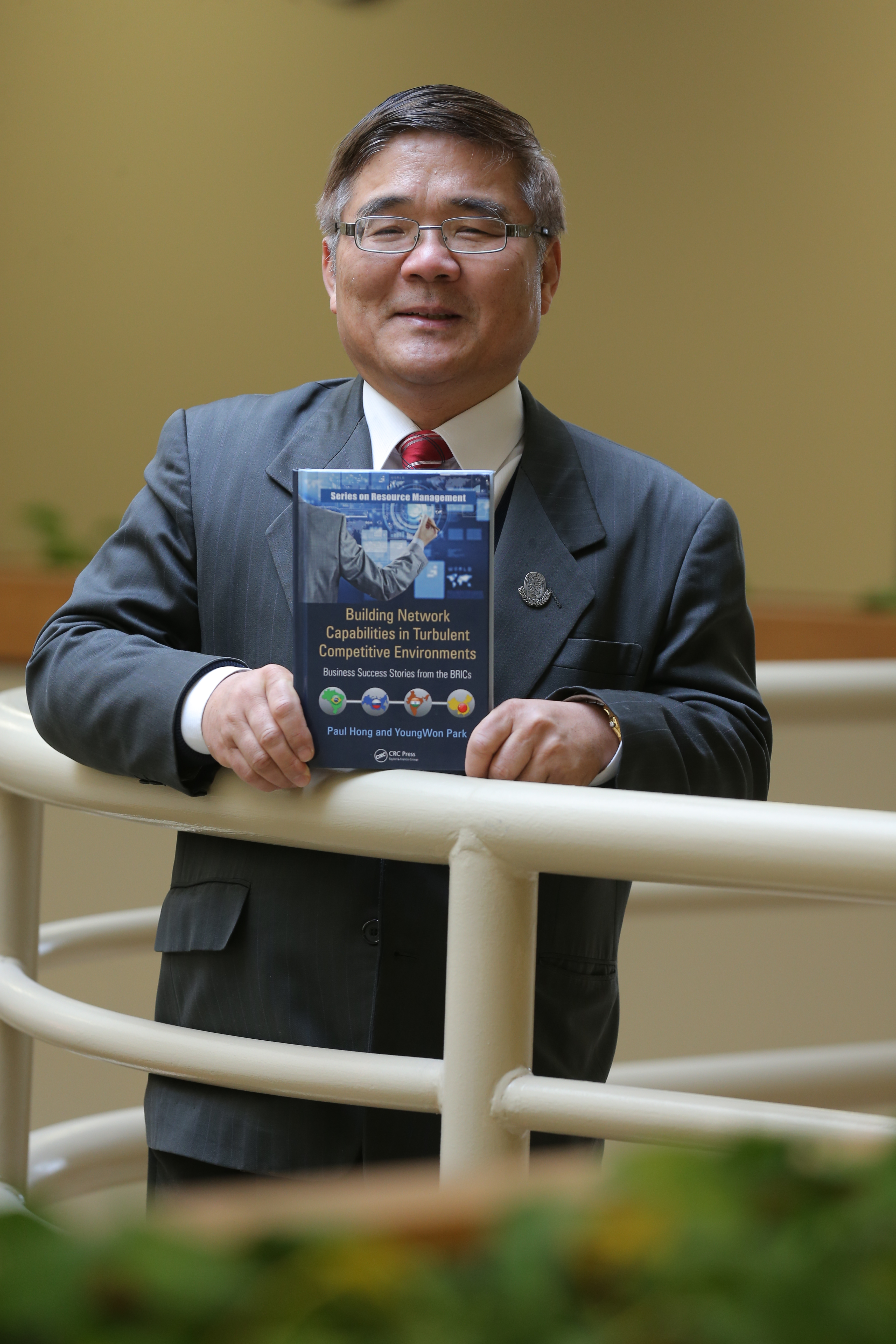 Dr. Hong and his new book