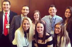 University of Toledo College of Business students  participated in the American Marketing Association conference
