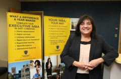 UT alumna directs COBI's new Graduate Programs office