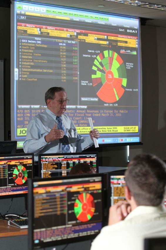 Neff Trading Room in Stranahan North