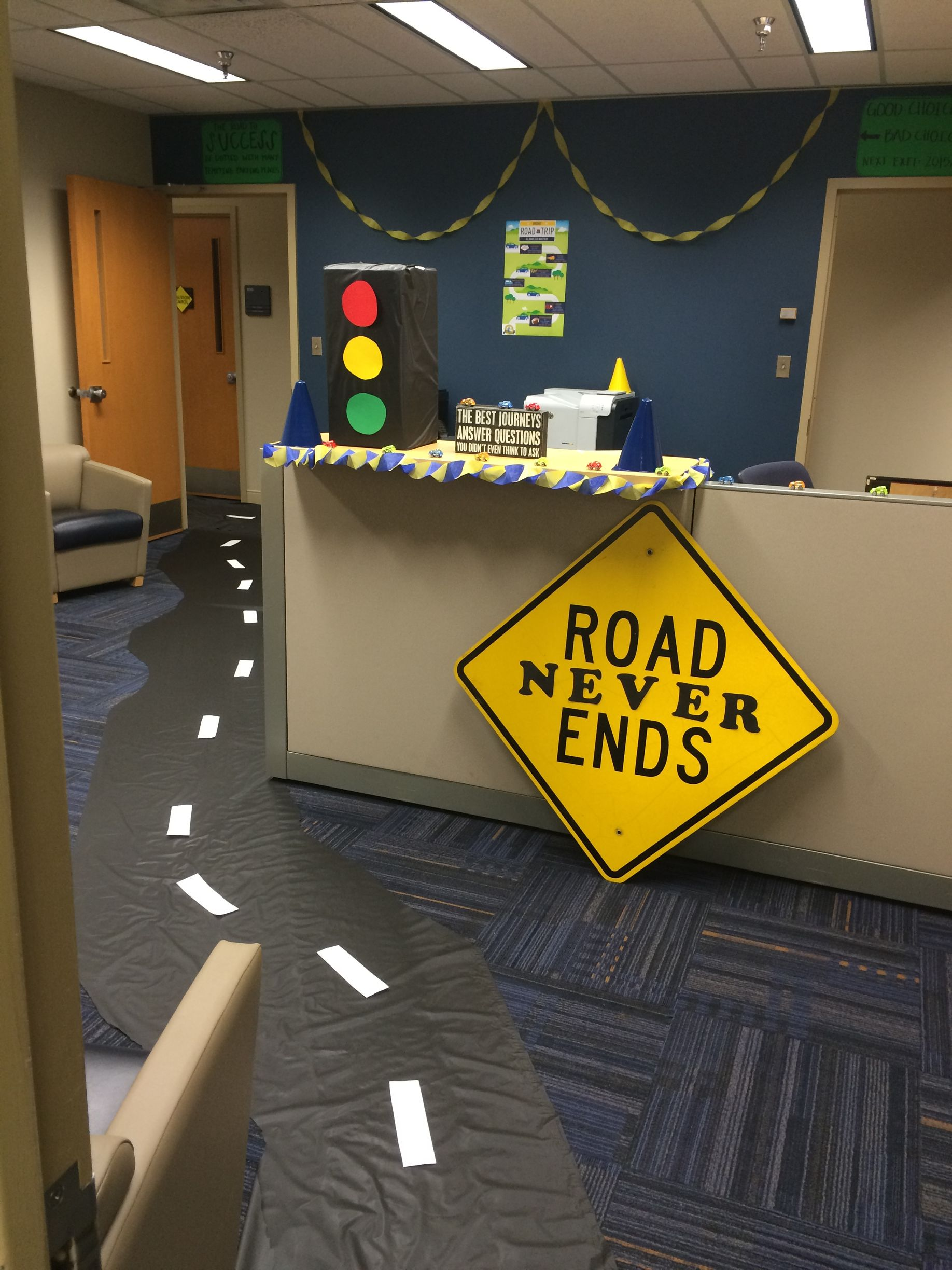 COBI Graduate Programs office wins campus-wide office decorating contest
