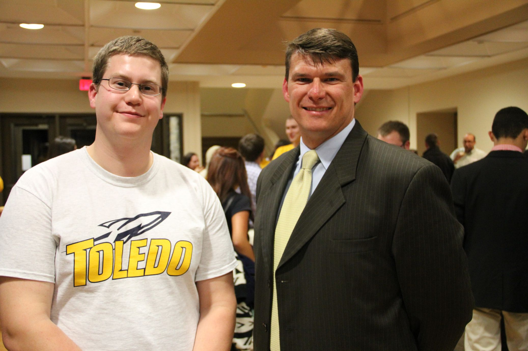 UT College of Business hosted Meet the Accountants program