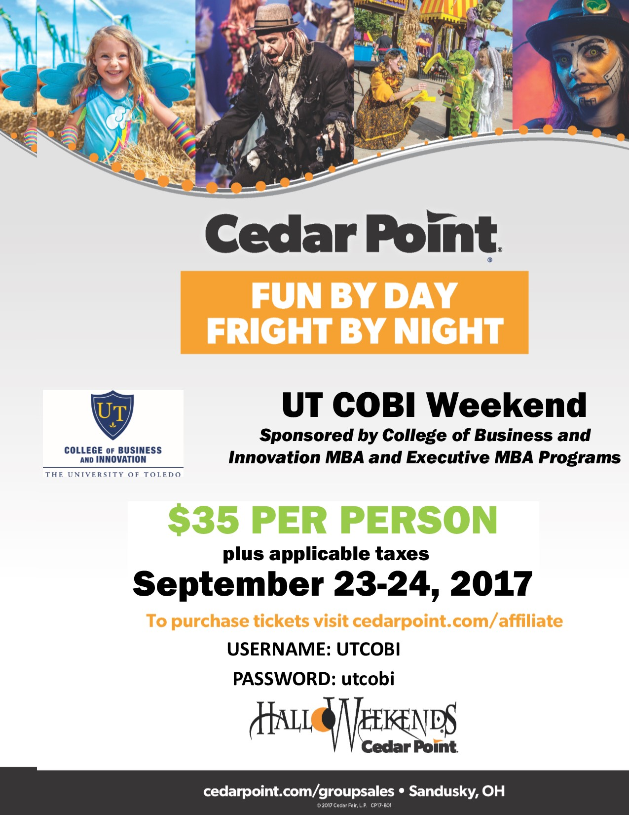 Djj business link agcguru info -  Ut College Of Business And Innovation Arranges For Special Price On Cedar Point Tickets