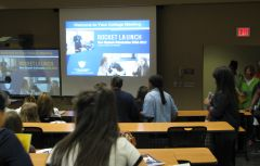 COBI welcomes freshmen during informative Rocket Launch sessions