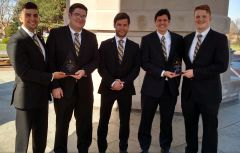COBI team seizes top two honors at Information Systems case competition