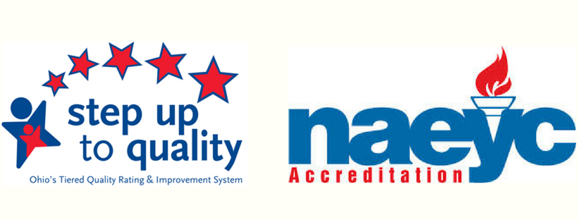 Step Up To Quality Logo / NAEYC Logo
