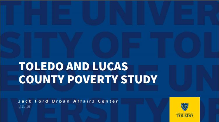 Cover of Toledo and Lucas County Poverty Study Presentation