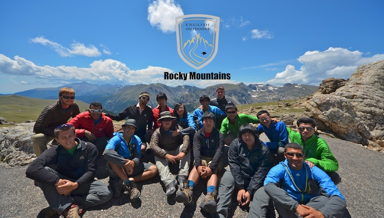Group photo from Rocky Mountains