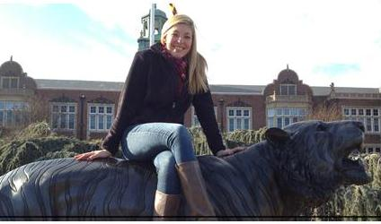 Elizabeth Greer - Studying at Townson University in Maryland
