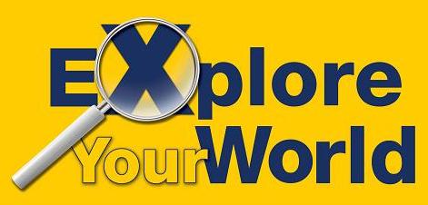 explore your world logo