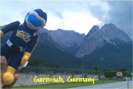 Rocky in Garmisch