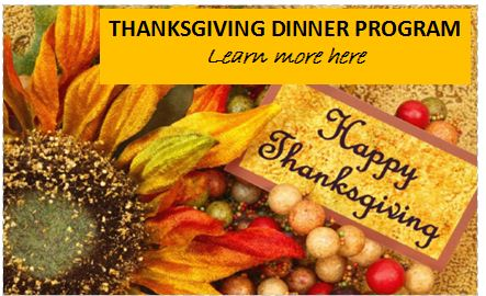 thanksgiving dinner program