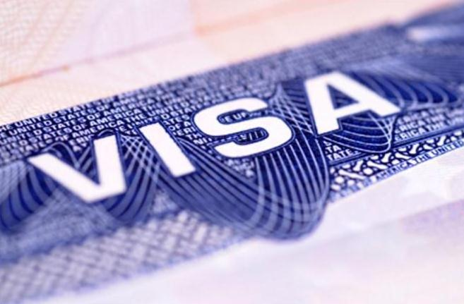 picture of a VISA