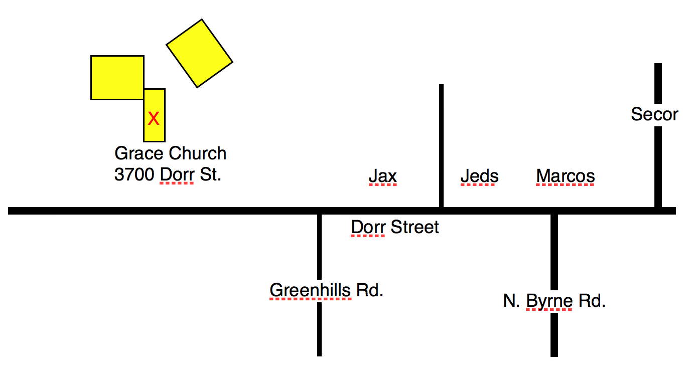 Grace Church Map