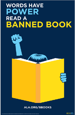 Words Have Power:Read a Banned Book.