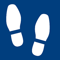 footstep icon